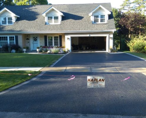 Asphalt Driveway in Golf, Il by Kaplan Paving