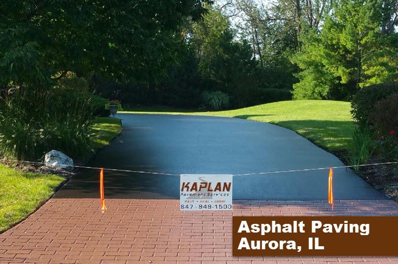 Asphalt Paving Aurora, IL