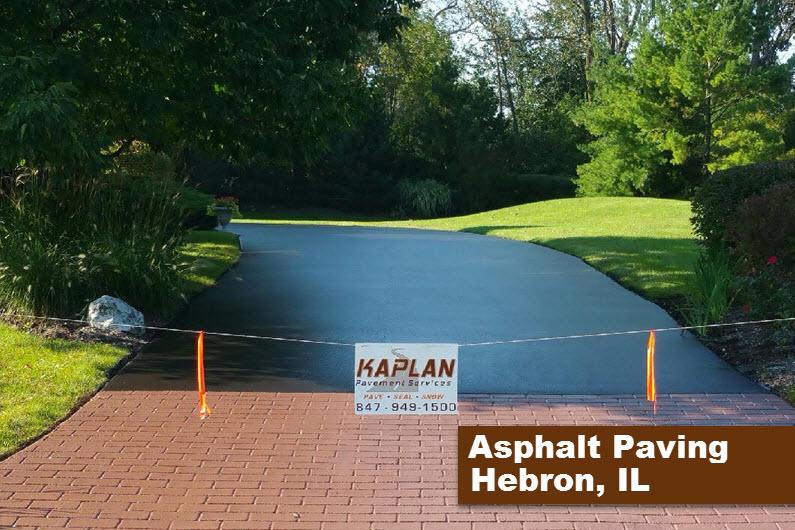 Asphalt Paving Hebron, IL