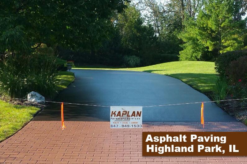 Asphalt Paving Highland Park, IL