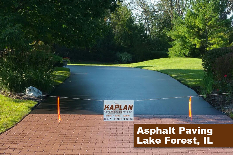 Asphalt Paving Lake Forest, IL