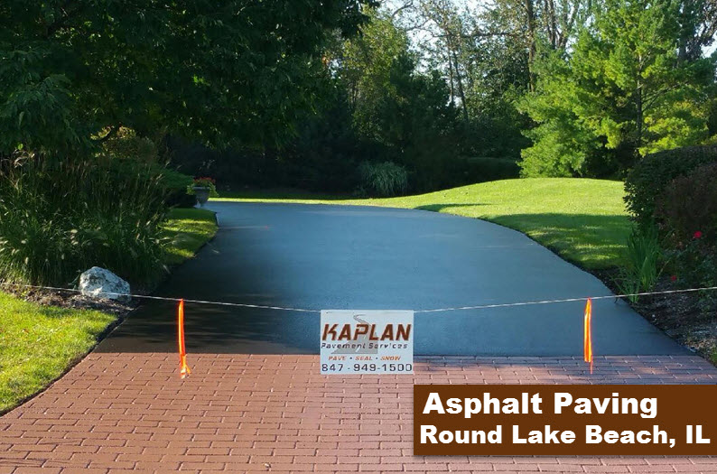 Asphalt Paving Round Lake Beach, IL