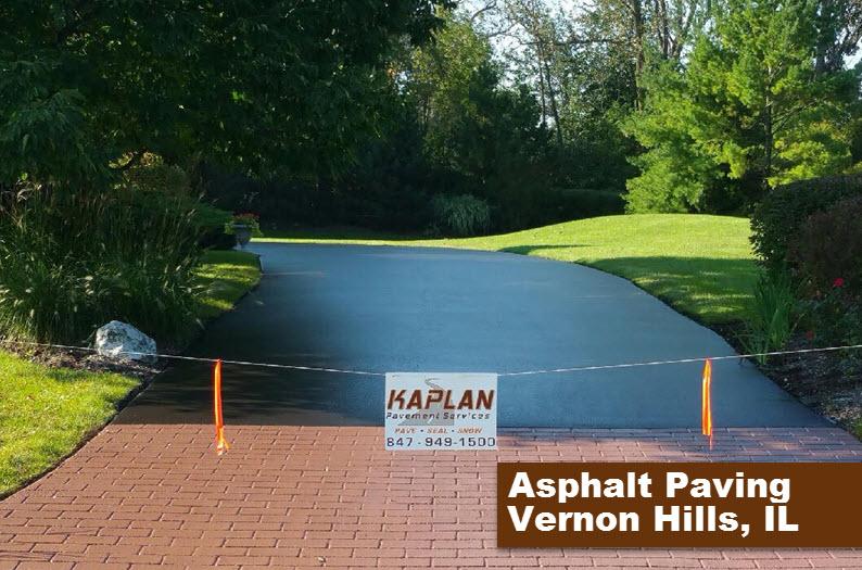 Asphalt Paving Vernon Hills, IL